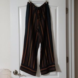 Madewell Clermont Stripe Silk Pants